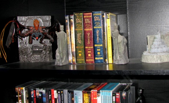 Lord of the Rings Shelf
