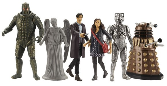 Character Options makes the official Doctor Who toys and recently made a switch to the 3.75 scale for figures going forward. This is disconcerting for long time collectors that are […]